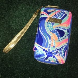 Lilly Pulitzer Wristlet/Wallet NWT